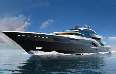 яхта Cosmos - концепт