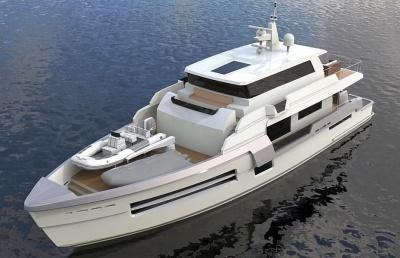проект яхты HARD 97