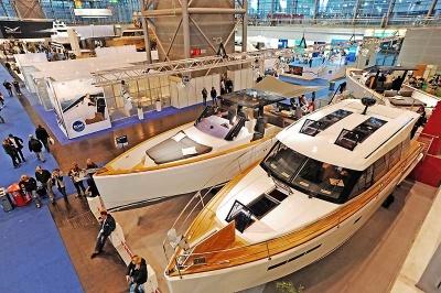 выставка яхт и катеров в дюссельдорфе