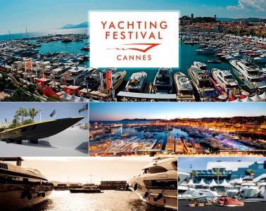 выставка яхт в Каннах